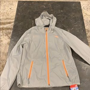 North Face Transparent Windbreaker